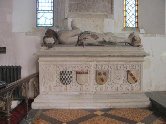 Seymour Family Tomb in Great Bedwyn's Church