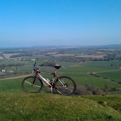 Cycling in the Pewsey Vale